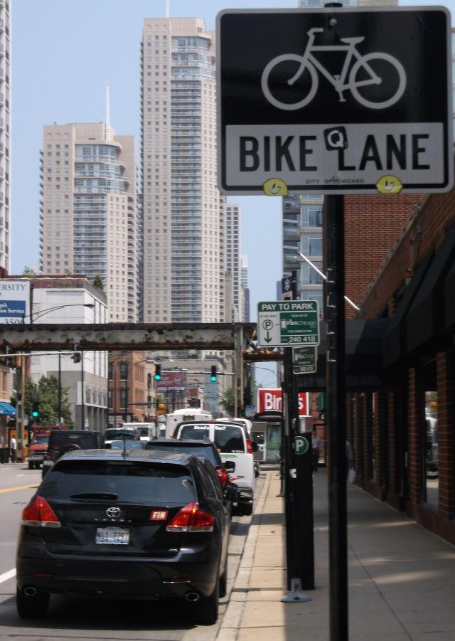 Missing bike lane?